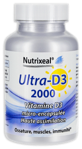 UltraD3 naturelle Nutrixeal vitamine D3