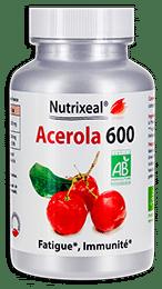 Acerola comprimés vitamine C Nutrixeal