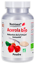 Acerola poudre vitamine C Nutrixeal