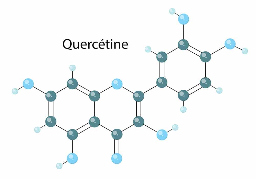 Structure quercétine sur Nutrixeal Info