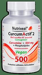 curcumactif 2 500mg vegan curcumine Nutrixeal