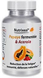 papaye vitamine C Nutrixeal