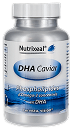 DHA caviar omega-3 Nutrixeal, dha phospholipides.