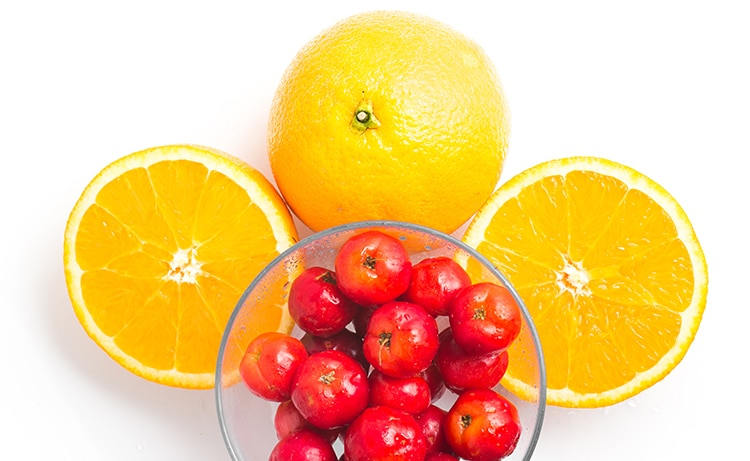 acerola et orange sources vitamine C