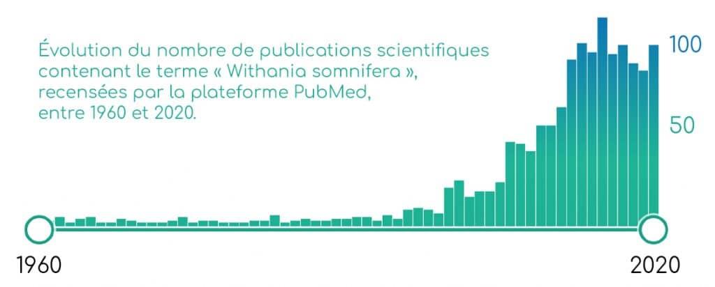 Publications scientifiques sur l'ashwagandha (withania somnifera).