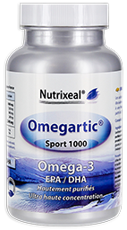 omegartic sport 1000 omega-3 Nutrixeal, epa et dha.