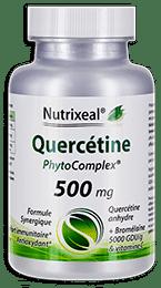 Quercetine phytocomplex Nutrixeal, avec quercetine et bromelaine.