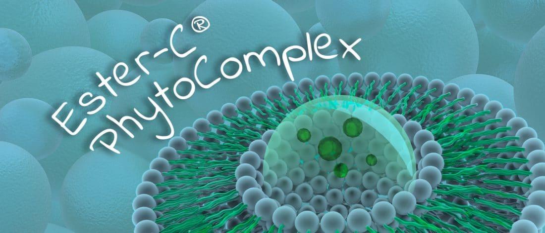 Ester-C PhytoComplex liposomale Nutrixeal en poudre, vitamine C non acide et hautement assimilable.