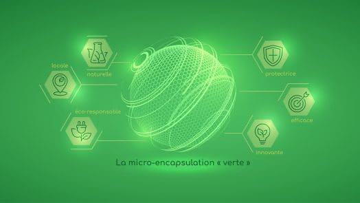 Micro-encapsulation verte nutrixeal, innovante, naturelle, locale, protectrice et efficace.