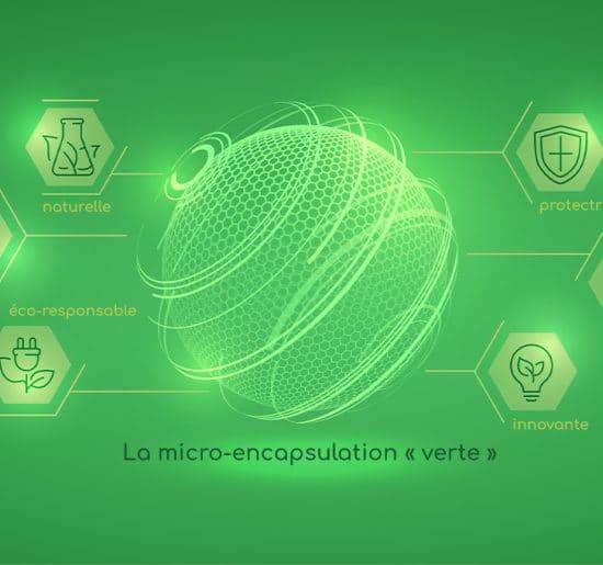 Micro-encapsulation verte nutrixeal, innovante, naturelle, locale, protectrice et efficace.