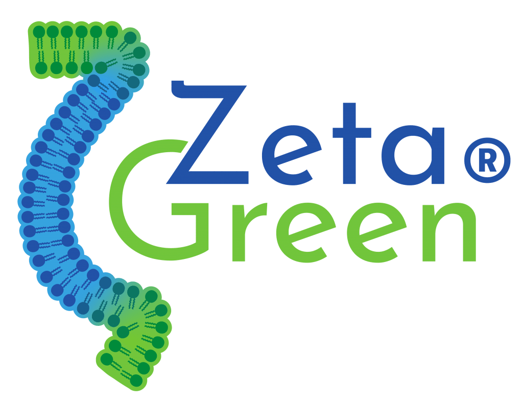 Logo ZetageGreen Nutrixeal, technique d'encapsulation liposomale.