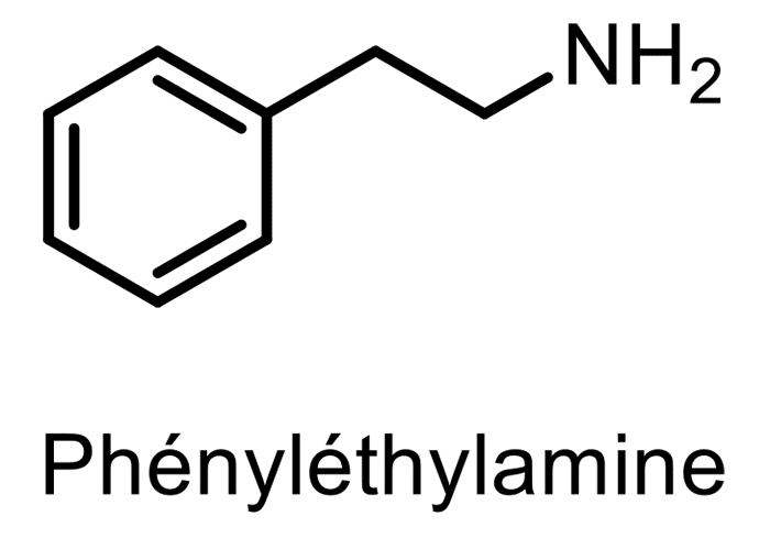 Phényléthylamine structure