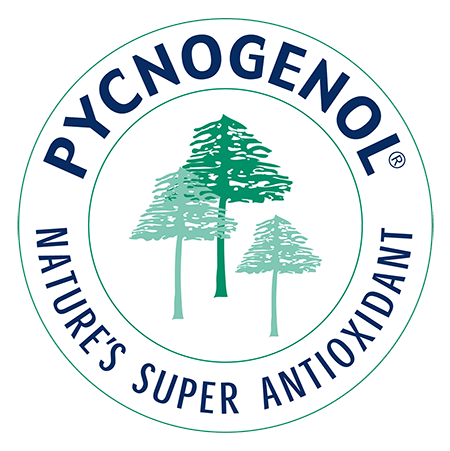 Logo Pycnogenol : nature's super antioxydant.