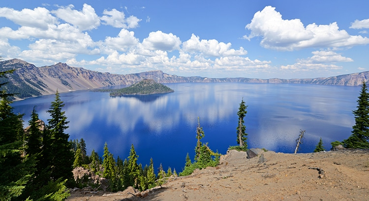 Lac Klamath en Oregon