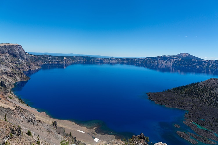 Lac Klamath en Oregon.