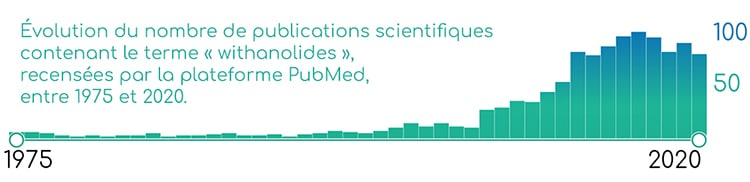 Publications scientifiques sur les withanolides (phytoactifs de l'ashwagandha)