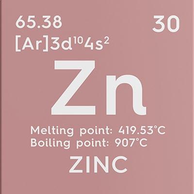 Zinc élémentaire - Nutrixeal-Info