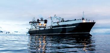 Vaisseau de pêche au Krill Aker Biomarine